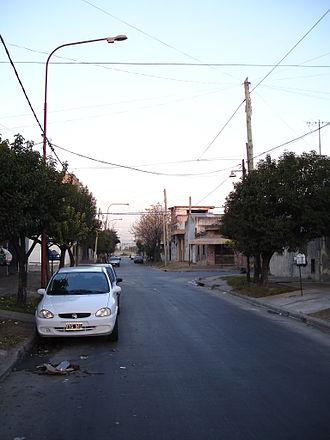 Ciudadela, Buenos Aires - Street in North Ciudadela