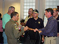 Civil Air Patrol Col. Rock Palermo discusses Hurricane Rita relief operations in Lake Charles, La.,.JPG