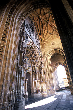 Oviedo Cathedral - Portico of the Cathedral