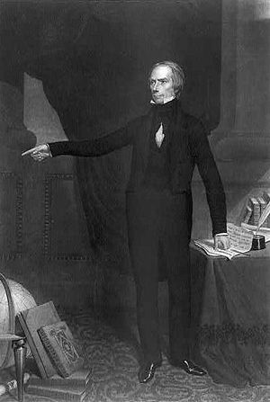 Speaker of the United States House of Representatives - Henry Clay (1813–1814, 1815–1820, 1823–1825) used his influence as speaker to ensure the passage of measures he favored