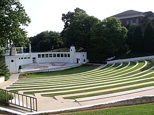 Clemson University Historic District II - Image: Clemson amphitheatre