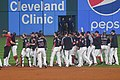 Cleveland Indians 22nd Consecutive Win (37100005752).jpg