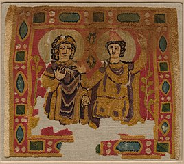 Two Figures Framed by a Jeweled Border (1979.58)