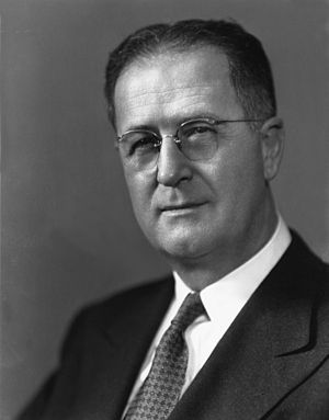 Clinton Presba Anderson - Image: Clinton P. Anderson, 13th Secretary of Agriculture, June 1945 May 1948. Flickr USD Agov