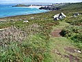 Clodgy Point to St Ives Head Porthmeor Beach St Ives Bay beyond - panoramio.jpg