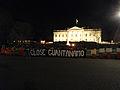 Close Guantanamo sign at the White House.jpg