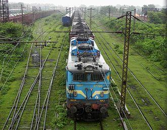 Dhanbad - Coal Train in Dhanbad yard