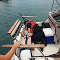 Coast Guard crew member resuscitates girl with CPR (29850519302).jpg
