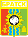 Coat of Arms of Bratsk (Irkutsk oblast) (1980).png