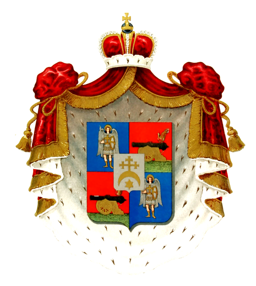 Coat of Arms of Dashkovy family (1907)