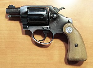 Weapons of the Lebanese Civil War - Colt Cobra .38 Special snub-nose revolver