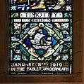 Coleraine St Patrick's Church Window W03 Robert Kyle Knox Memorial Window Detail Timothy Lower Panel 2014 09 13.jpg