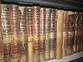 Collection of Goethe's works in the Library of the University of Algiers.jpg