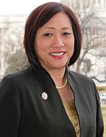 Colleen Hanabusa has represented Hawaii's 1st congressional district since 2016. She has also represented the district from 2011–2015.