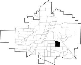 College Park location map