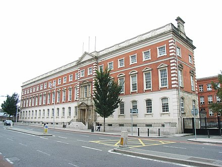 Dublin Institute of Technology, Bolton Street, since 1911 College of Technology, Bolton Street - geograph.org.uk - 570983.jpg