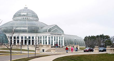 Como Park Zoo and Conservatory is a free public greenhouse and urban zoo open year-round.