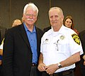 Congressman George Miller attends the Concord Police Department Awards Ceremony on February 24, 2012. (6926826501).jpg