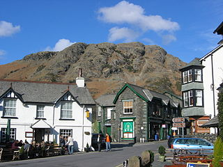 Coniston, Cumbria village in the United Kingdom