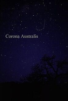 Corona Australis - Wikipedia
