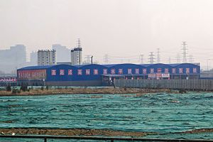 Construction of Beijing-Zhangjiakou HSR near K28 (20170329144302).jpg