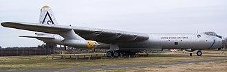 Castle Air Museum - Image: Convair RB 36H Peacemaker CAM