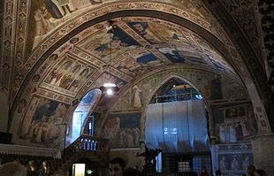 Transetto destro della basilica inferiore di Assisi