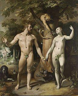 Cornelis van Haarlem - De zondeval
