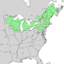 Cornus rugosa range map 1.png