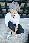 Cosplayer of Kaworu Nagisa 20170620.jpg