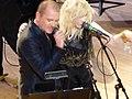 Courtney Love & Gavin Friday at Carnegie Hall (3983647996).jpg