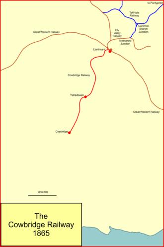 Llantrisant-Aberthaw line - The Cowbridge Railway