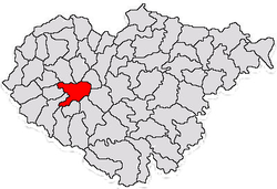 Commune Horoatu Crasnei in Sălaj County