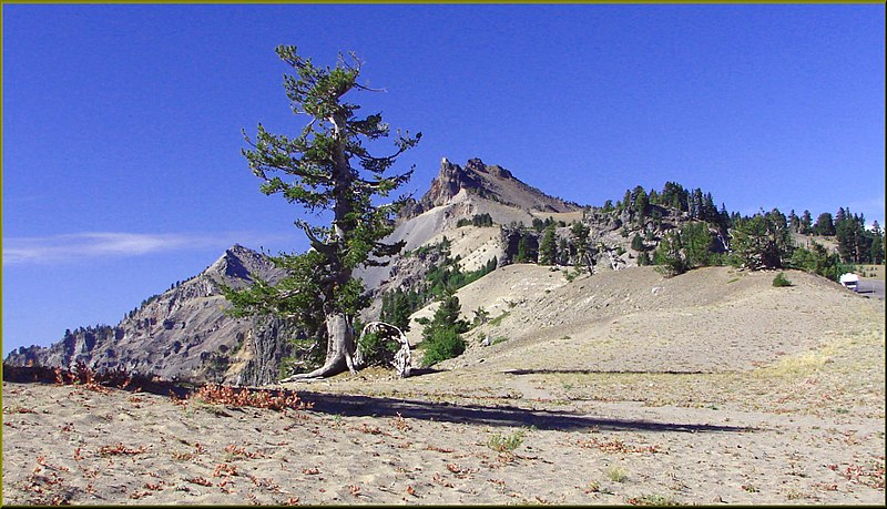 File:Crater Lake NP, OR, Hilman Peak 8-28-13b (9859690213).jpg