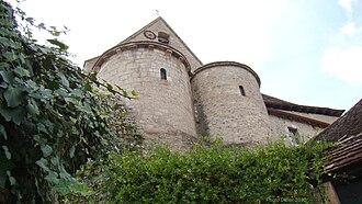 Creysse, Lot - The church in Creysse