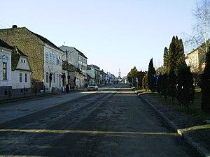 Cristuru Secuiesc - Image: Cristuru Secuiesc Szabadság Square