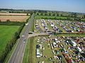 Croft car boot sale entrance from elevation of 25m - geograph.org.uk - 604256.jpg