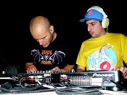 I Crookers nel 2008
