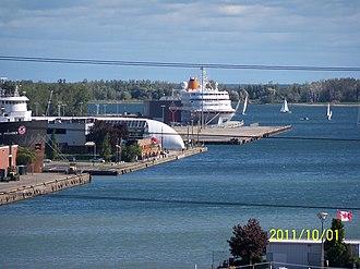 Ferry terminal - Toronto's International Marine Passenger Terminal.