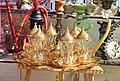Cups of tea, traditional glass, Prizren.jpg