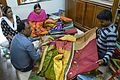 Customers Selecting Tussore Sarees - 2 Natun Phulia - Nadia 2016-11-12 1902.JPG