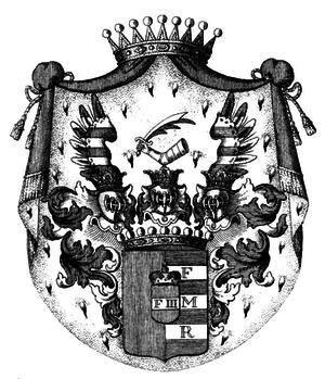 Czernin - Coat of arms of the Counts Czernin von und zu Chudenitz
