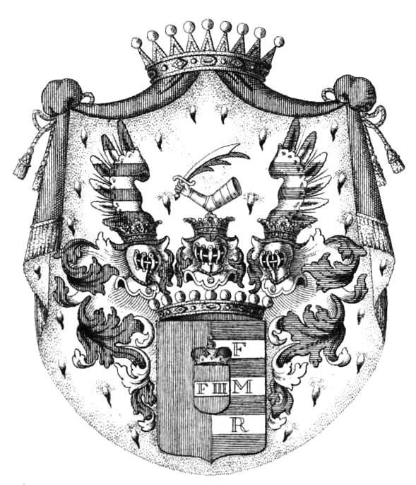 Czernin von Chudenitz Grafen-Wappen