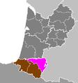 Département des Pyrénées-Atlantiques - Arrondissement de Pau.PNG
