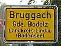 D-BY-Bodolz-Bruggach - Ortsschild II.JPG