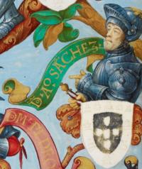 D. Afonso Sanches, senhor de Albuquerque - The Portuguese Genealogy (Genealogia dos Reis de Portugal).png