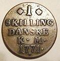 DENMARK CHRISTIAN VII, 1771 -ONE SKILLING b - Flickr - woody1778a.jpg