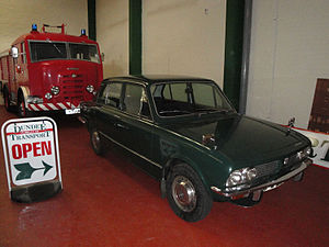 Dundee Museum of Transport - Image: DMOT Vehicles