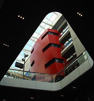 Vilhelm Lauritzen Architects - Image: DR Byen interior