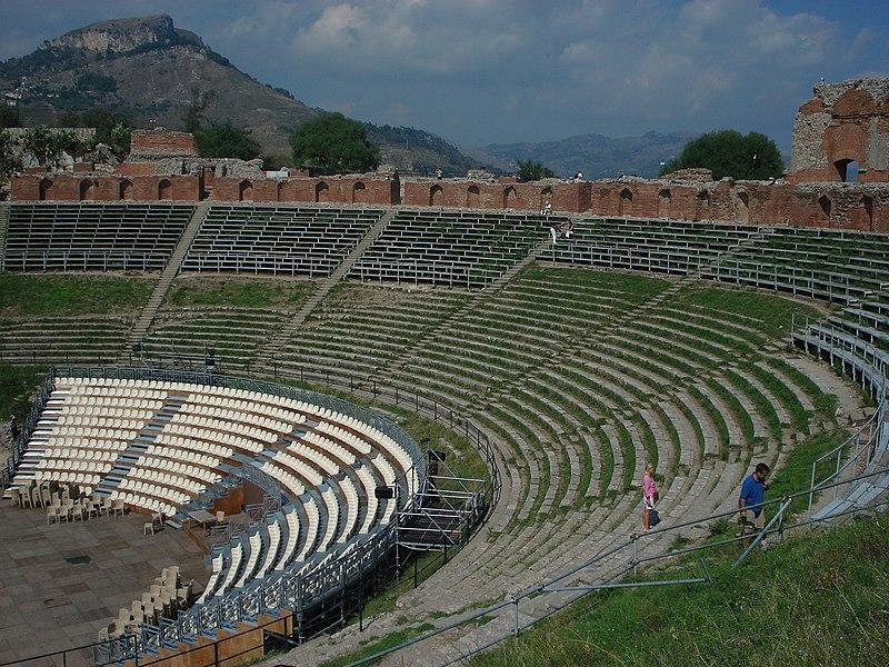 File:DSC00808 - Taormina - Teatro Greco - Foto di G. DallOrto.jpg